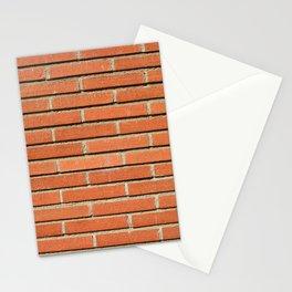 Bricks Wall Stationery Cards