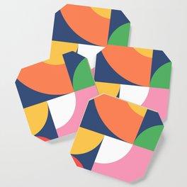 Abstract Geometric 17 Coaster