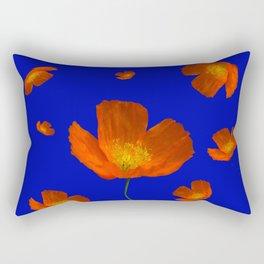 Poppies in the sun Rectangular Pillow