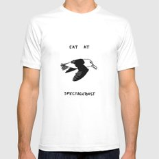 Spectacutoast White SMALL Mens Fitted Tee