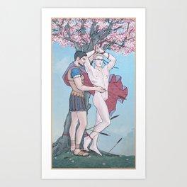 The Liberation of Saint Sebastian Art Print