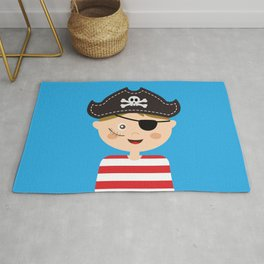 Pirat Costumed Kids Rug
