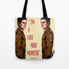 Dexter Morgan  B&W Tote Bag