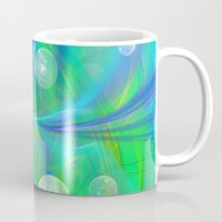 bubbles Mugs featuring Bubbles by Roger Wedegis