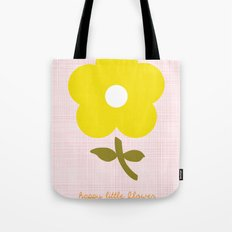 Happy little flower Tote Bag