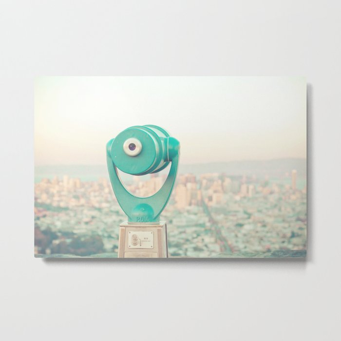 City Dreams Metal Print