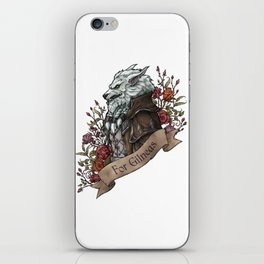 Old Wolf iPhone Skin