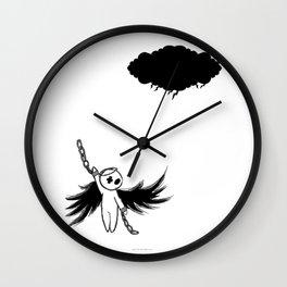Halloween's angel Wall Clock