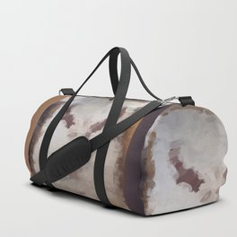 Car Part Cow Skull Duffle Bag