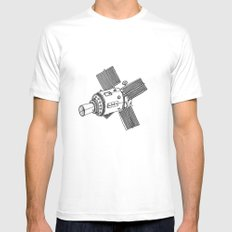 Satellite of Love Mens Fitted Tee White MEDIUM