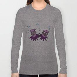 Dancing Octopus Long Sleeve T-shirt