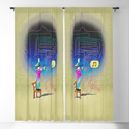 Make your own kind of music! Blackout Curtain
