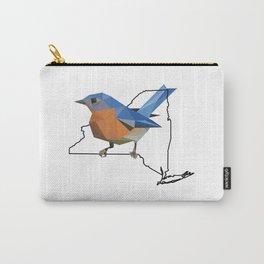 New York – Eastern Bluebird Carry-All Pouch