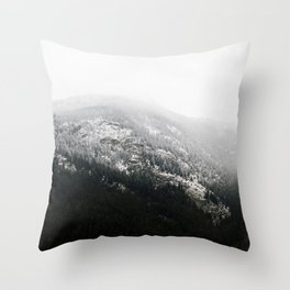 Swiss Alps - v1 Throw Pillow