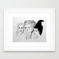hocus pocus Framed Art Prints featuring Hocus Pocus by Olivia Michaels