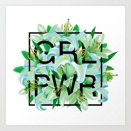 GRL PWR Art Print