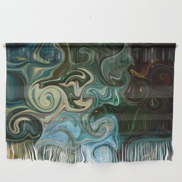 Goddess of Nature Abstract Wall Hanging