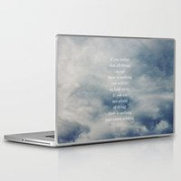 shih tzu Laptop & iPad Skins featuring Lao Tzu by Leah Flores