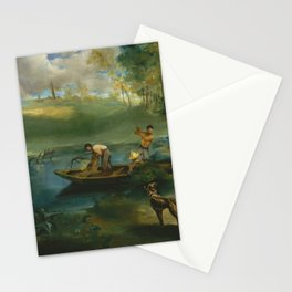 Édouard Manet - Fishing Stationery Cards