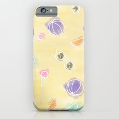 Summer in watercolors Slim Case iPhone 6s
