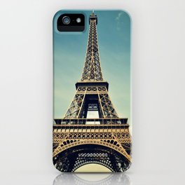 Eiffel Tower- Color iPhone Case