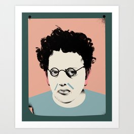 Philip Glass Art Print