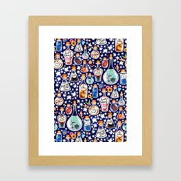 If Happiness Could Be Bottled  Framed Art Print