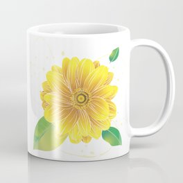 Helianthus - The Color of Vitality, Intelligence and Happiness Coffee Mug