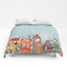 winter time Comforters