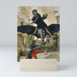 The Plague by Arnold Bocklin, 1898 Mini Art Print