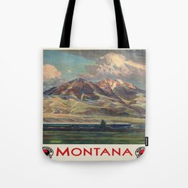 Vintage poster - Montana Tote Bag