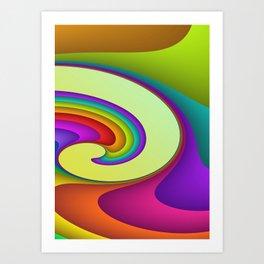 fluid -15- Art Print
