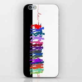 LAV Line-Up iPhone Skin