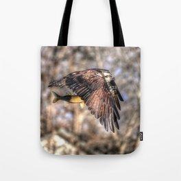 Osprey with Prey  Tote Bag