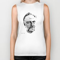 phil jones Biker Tanks featuring Phil by Aaron Synaptyx Fimister