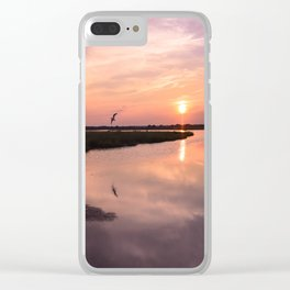 North Topsail Sunset Clear iPhone Case