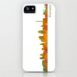 Kansas City Skyline Hq v1 iPhone Case