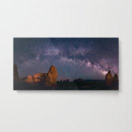 Arches National Park Panorama Metal Print