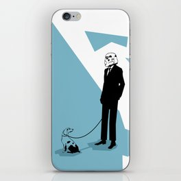 Off time iPhone Skin