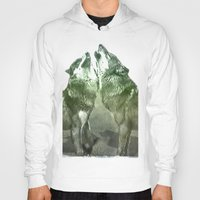 wolves Hoodies featuring Wolves by YM_Art by Yv✿n / aka Yanieck Mariani