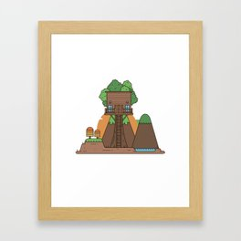 Tree Hose III Framed Art Print