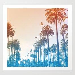 Summer in LA Art Print