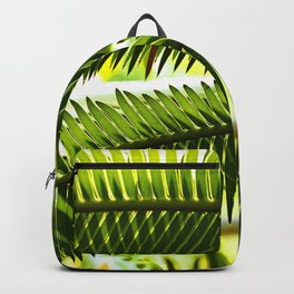 Palm frond Backpack