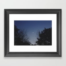 Crescent Lullaby Framed Art Print