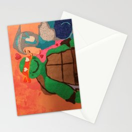 Renet kiss Mikey Stationery Cards
