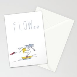 Dana flow One [pasty] Stationery Cards
