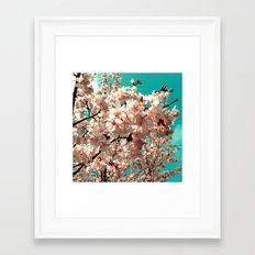 cherry blossom III Framed Art Print