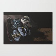 Brooding Batcave Canvas Print