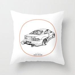 Crazy Car Art 0205 Throw Pillow