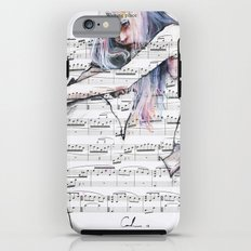Waiting Place on sheet music Tough Case iPhone 6s